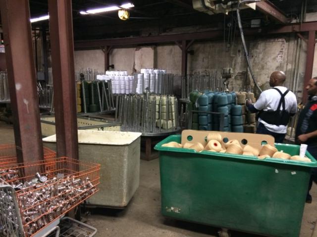 dye factory